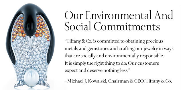 Tiffany Sustainability