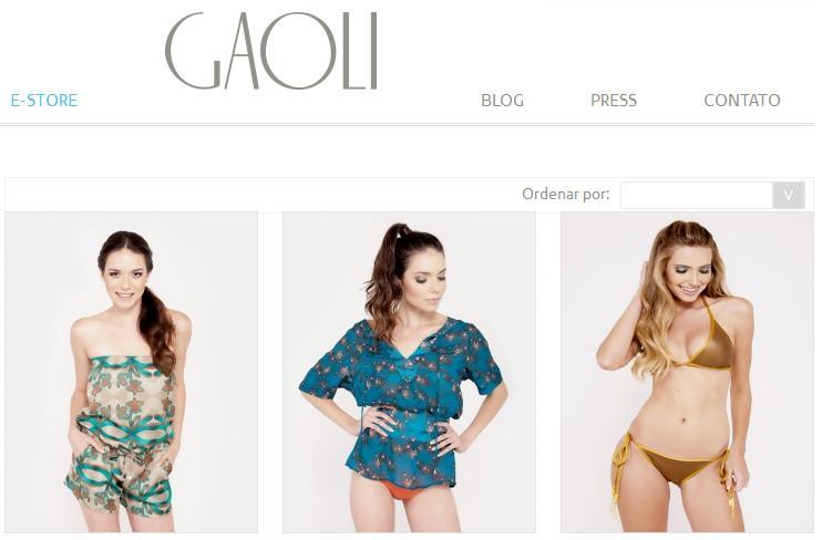 Gaoli online loja