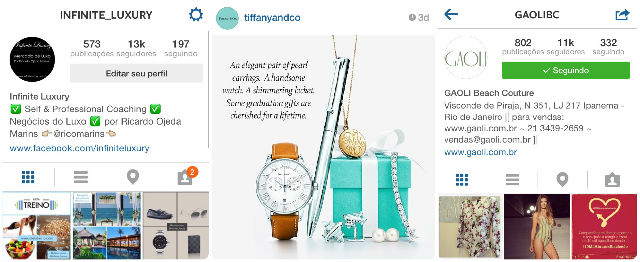 instagram mercado de luxo